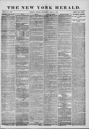 W YORK HERALD. WHOLE NO. 7226 MORNING EDITION-WEDNESDAY, JUNE 11, 1856. PRICE TWO CENTS. 4BTERTRE31ENTS RMKWiil HYBRY DAY.