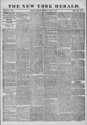 THE NEW YORK HERALD. WHOLE NO. 7236. MORNING EDITION?SATURDAY, JUNE 21, 1856. PRICE TWO CENTS. INTERESTING FROM EUROPE....