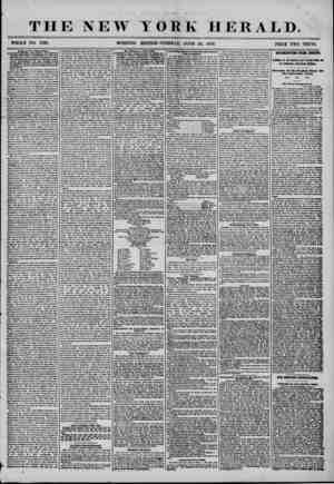 V THE NEW YORK HERALD. WHOLE NO. 7239. MORNING EDITION?TUESDAY, JUNE 24, 1856. PRICE TWO CENTS. Army of the United States,