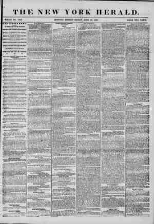 ? THE NEW T OK K HERALD. WHOLE NO. 7242. MORNING EDITION?FRIDAY, JUNE 27, 1856. PRICE TWO CENTS. 2BB L ATS ST NSWS. BV...