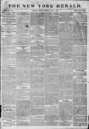 THE NEW YORK HERALD. WHOLE, -Wo. 7246. MORNING EDITION? TU BSL'.AT, JULY 1, 1856. PRICE TWO CENTS. v* B ? &Af Bf f craw*. J