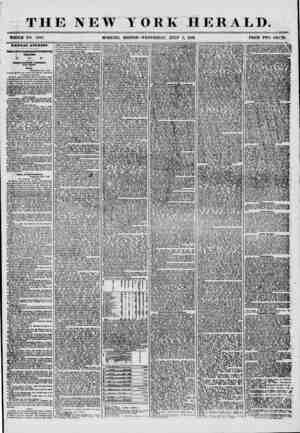 THE NEW WHOLE NO. 7247. MORNING YORK HERALD. EDITION? WEDNESDAY, JULY 2, 1856. PRICE TWO CENIS. Report of the Congressional