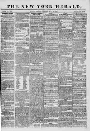 THE NEW YORK HERALD. WHOLE NO. 7254. MORNING EDITION? THURSDAY, fZTLY 10, 1856. PRICE TWO CENTS. MXjmOXPAL ATPAHLS. BOARD OP