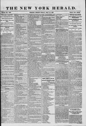 THE NEW YORK HERALD. WHOLE NO. 7262. MORNING EDITION? FRIDAY, JULY 18, 1856. PRICE TWO CENTS. APPALLING DISASTERS. f RIGHTFUL
