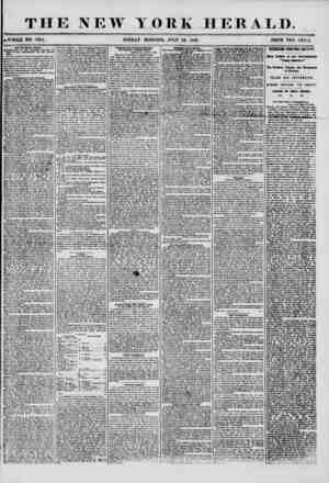 THE NEW YORK HERALD. ?WHOLE NO. 7264. SUNDAY MORNING, JULY 29, 1856. PRICE TWO CENTS. The Broadway Harder. ?C0NTIW;ATION OK