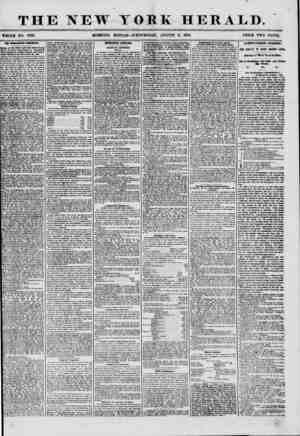 THE NEW YORK HERALD. # f * , ' ? % ?f .? ' ? f * WHOLE NO. 7281. MORNING EDITION-WEDNESDAY, AUGUST 6, 1856. PRICE TWO CENTS.