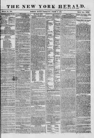 THE NEW TOR ? WHOLE NO. 7288. MORNING EDITION? WEDNkoJUr, # K HF^ A TiX>. AUGUST 13, 1856. ADVERTISEMENTS RENEWED EVERT DAY.