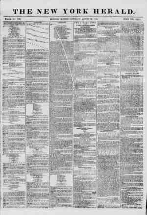 THE NEW WHOLE No 7291. MOKNISTG YORK HERALD. EDITION? SATURDAY, At'CrCTST 16, 1356. PRICE TWO CENTS. ADVURTISEMEMTS REMEWED