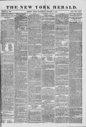 THE NEW YORK HERALD. WHOLE NO. 7309. MORNING EDITION ?WEDNESDAY, SEPTEMBER 3, 1856. PitlCE TWO CENTS. IMPORTANT POLITICAL...
