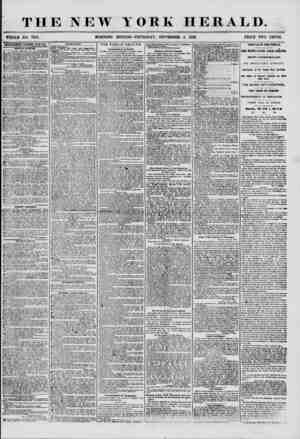 THE NEW YORK HERALD. WHOLE NO. 7310. ADVERTISEMENTS RENEWED EVERY DAK. SPECUL NOTICES. _ ~r A ?THE MEMBERS OF NO SL'RRKNDKK .