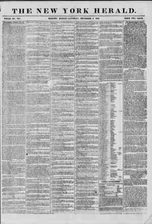 THE NEW YORK HERALD. WHOLE NO. 7312. MORNING EDITION-SATURDAY, SEPTEMBER 6 1856. PRICE TWO CENTS. ADVERTISEMENTS RENEWED...