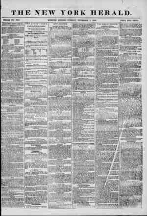 THE NEW YORK HERALD. WHOLE NO. 7315. MORNING EDITION? TUESDA T, SEPTEMBER 9 1856. PRICE TWO CENTS. ADVERTISEMENTS RENEWED...