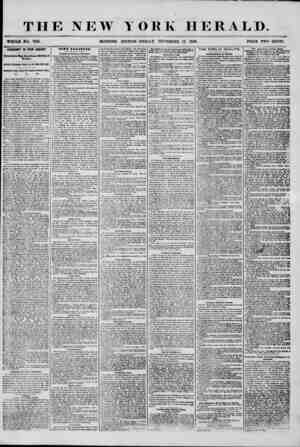 """THE NEW YORK HERALD. WHO LB NO. 7318. MORNING EDITION? FRIDA S"""", SEPTEMBER 12 1856. PRICE TWO CENTS. FREMONT IN NEW JERSEY."""