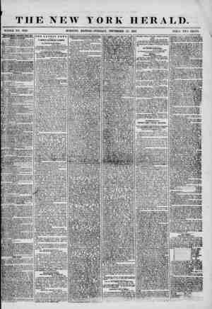 THE NEW YORK HERALD. WHOLE NO. 7329. MORNING EDITION? TUESDA Y, SEPTEMBER 23, 1856. PRICE TWO CENTS. 1DYKKTISEIEHE8 RENEWED