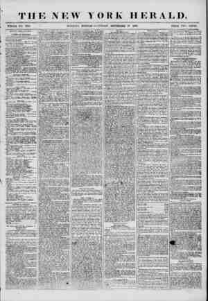 THE NEW YORK HERALD. WHOLE NO. 7333. ' MOENTN& EDITION? SATCRDA T, SEPTEMBER 27 1356. PRICE TWO CENTS, CITY POLITICS. (?i...