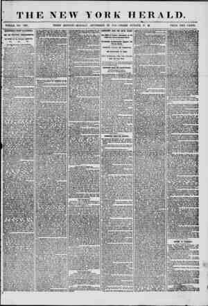 THE NEW YORK HERALD. i , WHOLE NO. 7335. THIRD EDITION-MONDAY, SEPTEMBER 29, 1856.-THREE O'CLOCK P. M. PRICE TWO CENTS....