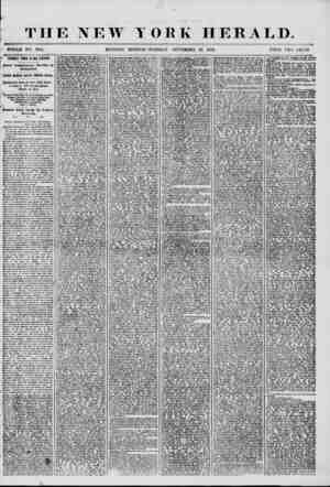 THE NEW Y WHOLE NO. 7336. MORNING EDITION ORK HERALD. ?TUESDAY. SEPTEMBER 30, 1856. PRICE TWO CENTS. ? TERRIBLE TIMES IN OLD