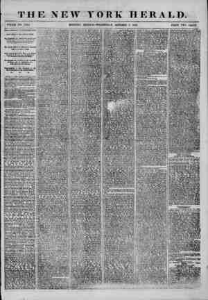 THE NEW YORK HERALD. WHOLE NO. 7(14. MOUNTING EDITION-WEDNESDAY, OCTOBER 8, 1856. PRICE TWO CENTS. SPEAKERBAMt- I*...