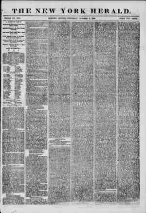 THE NEW WHOLE NO. 7345. MORNING YORK HERALD. EDITION-THURSDAY, OCTOBER 9, 1856. PRICE TWO CENTS. A SECESSION JUBILEE The...
