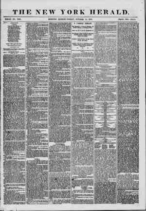 THE NEW TORK HERALD. MORNING EDITION-FRIDAY, OCTOBER 10, 1856. PRICE TWO CENTS. LITEHATDKE. Autumn, BY ALIUS CA KSY ? Through