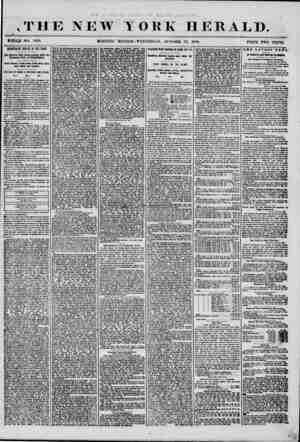 THE NEW II HOLE NO #358. MORNING YOKK HERALD. EDITION?WEDNESDAY. OOTOBEtt 22, IH56. PHICE TWO CENTS. DEMOCRATIC JUBILEE IN