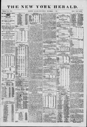THE NEW YORK HERALD. WHOLE NO. 7372. MORNING EDITION?WEDNESDAY, NOVEMBER f\ 1850. PRICE TWO CUNTS. ft HE GREAT NATIONAL...