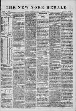 THE NEW T NO. 7377. MORNING EDITION t ORK HERALD. MONDAY, NOVEMBER 10, 1856. PRICE TWO CENTS; THE ELE C T I O N S. T HE ft E
