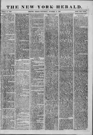 THE NEW YORK HERALD. WHOLE NO. 7S79. MORNING EDITION-WEDNESDAY, NOVEMBER 12, 1856. PRICE TWO CENTS. Our Vligli'l '...
