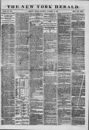 THE NEW ? WHOLE NO. 7380, MORNING TORK HERALD. I' Iff EDITION?THURSDAY, NOVEMBER 13, 1856. PRICE TWO THE RESULTS OF THE LATE