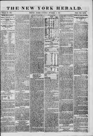 4 THE NEW YORK HERALD. * , ' WHOLE NO. 7382. MORNING EDITION?SATURDAY, NOVEMBER 15, 1856. PRICE TWO CENTS. ANOTHER AWFUL...