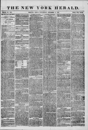 THE NEW * WHOLE MO. 738G. MORNING YORK HERALD. EDITION?WEDNESDAY, NOVEMBER 19, 1856. PRICE TWO CENTS. POUR DAYS LATER * ROM
