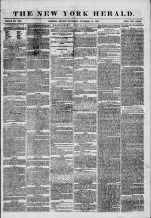 THE NEW YORK HERALD. 'VJ. :'V . ?? # WHOLE NO. 7387. MORNING EDITION-THURSDAY, NOVEMBER 20, 1856. PRICE TWO CENTS....