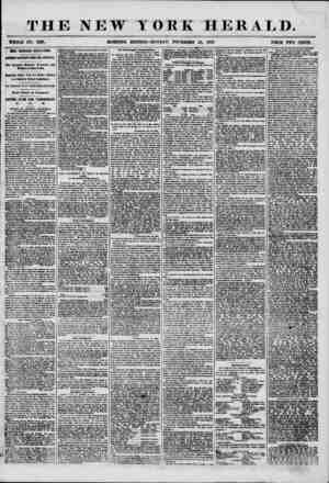 THE NEW YORK HERALD. WHOLE NO. 7391. MORNING EDITION-MONDAY, NOVEMBER 24, 1856. PRICE TWO CENTS. MORE NICARAGUA REVELATIONS.