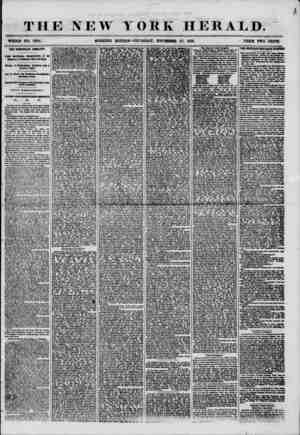 THE NEW YORK HERALD. WHOLES NO. T394. MORNING EDITION?THURSDAY, NOVEMBER 27, 1856. PRICE TWO CENTS. THE DEMOCRACY JUBILANT.