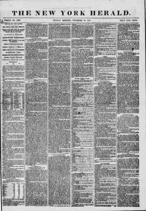 THE NEW YORK HERALD. t WHOLE NO. 7397. I R> SUNDAY MORNING, NOVEMBER 30, 1850. PRICE TWO CENTS. ' ARRIVAL OF THE ILLINOIS.