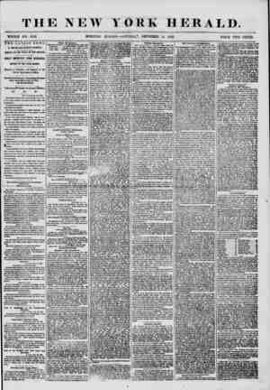 THE NEW YORK HERALD. WHOLE NO. 7410. MORNING El >l'l 1 ON?S ATtTRDA T> DECEMBER 13, 1856. PRICE TWO CENTS. THE LATEST NEWS.