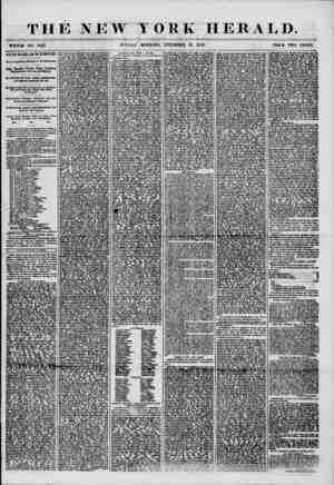 THE NEW YORK HERALD. , ^ . * * ? ' 4 .. . 4 ? V I < ? . ' ' WHOLE NO. 7418. SUNDAY MORNING. DECEMBER 21, 1856. PRICE TWO...