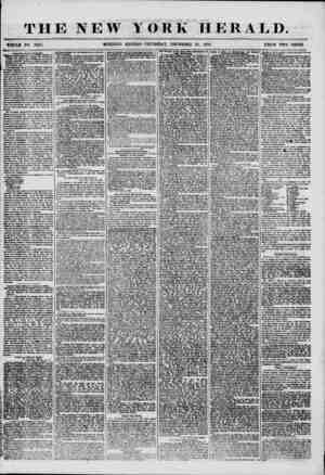 THE NEW YORK HERALD. WHOLE NO. 7422. MORNING EDITION-THURSDAY, DECEMBER 25, 1856. PRICE TWO CENTS Departure of t n? fBSB...
