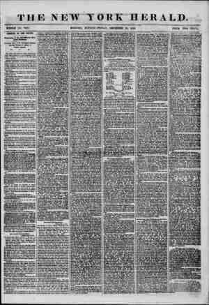 THE NEW WHOLE NO. 7423. HORNING .EDITION?FRIDAY, DECEMBER 20, 1856. PRICE TWO CENTS. ARRIVAL OF THE BALTIC. formation of the