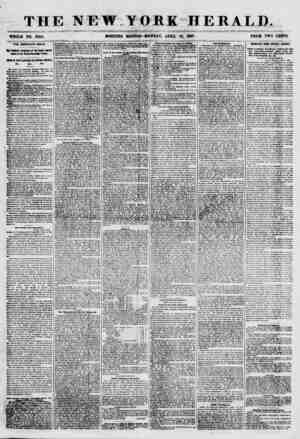 th: WHOLE NO. 7644. THE AMERICA'S MAILS. Vta PtaknhW KftrnXantt nt th#: Sfiltttf Ajftfltd Mti to the Dalian-Clarendon Treaty.