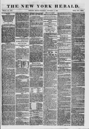 THE NEW YORK HERALD. WHOLE NO. 7672. MORNING EDITION-THURSDAY, SEPTEMBER a 1857. PRICE TWO CENTS. The President's Lettef to