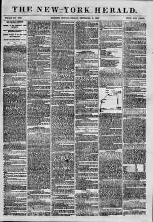 BE NE \V - V 0 R K - HERALD. WHOLE NO. 7680. MORNING EDITION-FRIDAY, SEPTEMBER 1L 1857. PRICE TWO CENTS. THE POLITICAL...