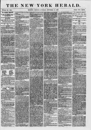 THE NEW YORK HERALD. WHOLE NO. 7681. MORNING EDITION-SATURDAY, SEPTEMBER 12. 1857. PRICE TWO CENTS. THE SYRACUSE COHVEHflOH.