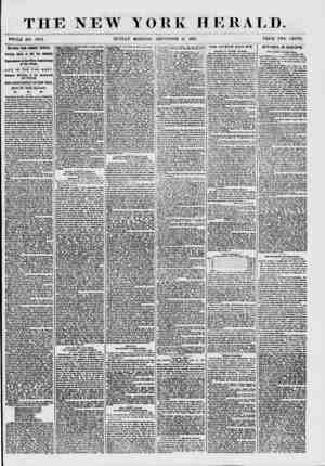 THE NEW YORK HERALD. WHOLE NO. 7682. SUNDAY MORNING, SEPTEMBER 13, 1857. PRICE TWO CENTS. SKETCHES FROM SUMMER TOURISTS....