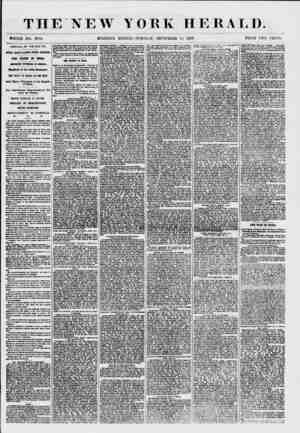 THE NEW YORK HERALD. 1TH0LE NO. 7684. MORNING EDITION?TUESDAY, SEPTEMBER 15. 1857. PRICE TWO CENTS. ARRIVAL OF THE BALTIC.