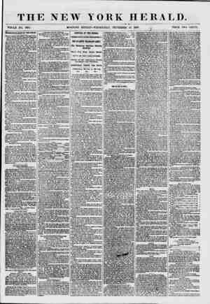 THE NEW YORK HERALD. WHOLE NO. 7685. MORNING EDITION-WEDNESDAY, SEPTEMBER 16. 1857. , PRICE TWO CENTS. tEKMKNDOUa BALE AT THE