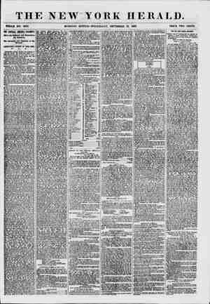 THE NEW YORK HERALD. WHOLE NO. 7692. MORNING EDITION?WEDNESDAY, SEPTEMBER 23. 1867. PRICE TWO CENTS. TIE CENTRAL AMERICA...