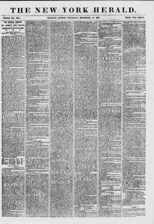 THE NEW YORK HERALD. WHOLE NO. T?93. MORNING EDITION?THURSDAY, SEPTEMBER 24. 1857. PRICE TWO CENTS. THE POLITICAL CAMPAIGN.