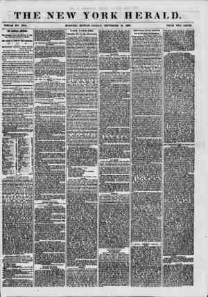 THE NEW YORK HERALD. WHOLE HO. 7694. MORNING EDITION-FRIDAY, SEPTEMBER 25, 1867. PRICE TWO CENTS. TIE CEITRAL AMERICA....