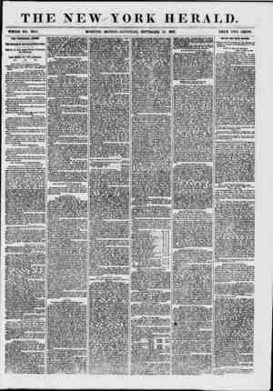 THE NEW YORK HERALD. WHOLE HO. 7695. HORNING EDITION?SATURDAY, SEPTEMBER 26. 1867. PRICE TWO CENTS. THE FINANCIAL CRISIS. fU